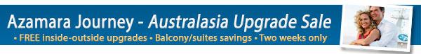 Azamara Club Cruises - Australia & Asia Upgrade Sale