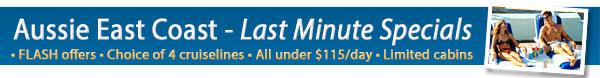 Aussie East Coast Last Minute Offers