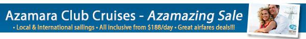 Azamara Azamazing Sales from $188/night