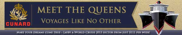 Featured Cruiseline - Meet the Queens