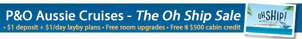 P&O Cruises - The Oh Ship Sale