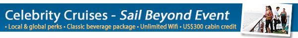 Celebrity Cruises - Sail Beyond Sale