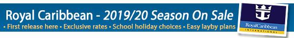 Royal Caribbean 2019-2020 Release