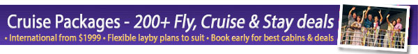 Packages - Fly Cruise and Stay