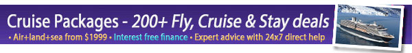 Packages - Fly, Cruise & Stay