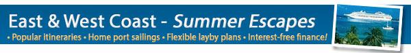 Popular Local Summer Cruises