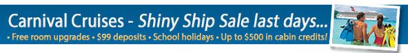 Carnival Cruises - $99 Deposit border=