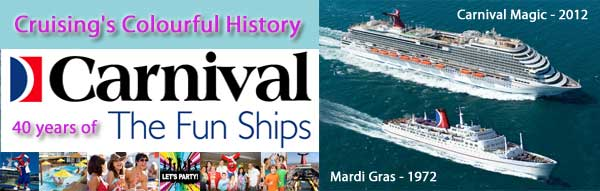 Carnival Cruise's Colourful History