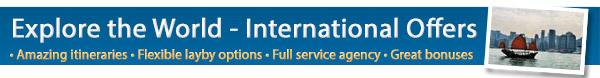 HOT International Deals