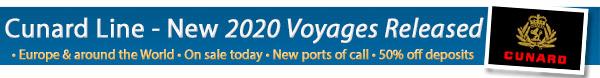 Cunard Line 2020 Programme Release