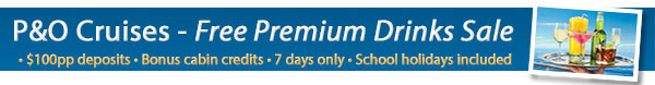 P&O Cruises - Premium Drink Package Sale