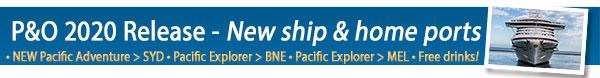 P&O Cruises New Release - Pacific Adventure
