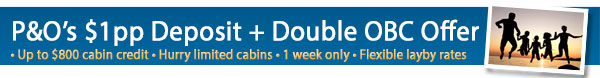 P&O Cruises Double OBC