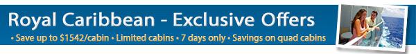Royal Caribbean Exclusives