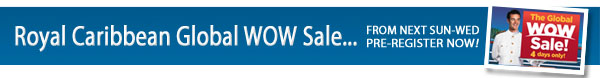International Royal Caribbean WOW Sale