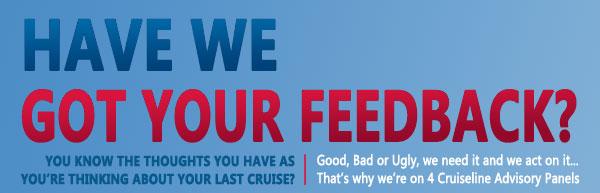 Happy Cruise Snaps & Testimonials