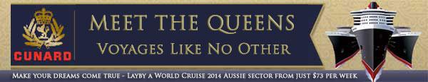 Meet the Cunard Queens