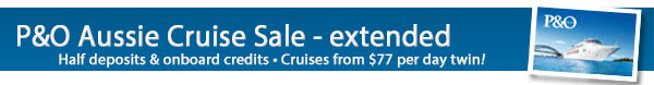 P&O Cruises Sale Extended