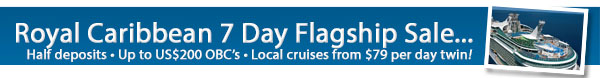 Royal Caribbean's Flagship Sale