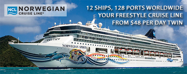 Norwegian Cruiseline's Freestyle Cruising