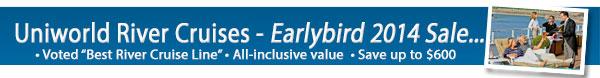Uniworld River Cruises - Earlybirds