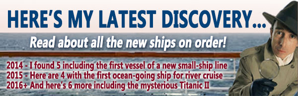 New Ships on Order