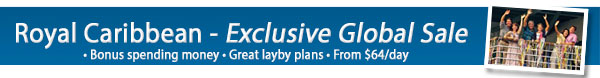 Exclusive Royal Caribbean Sale