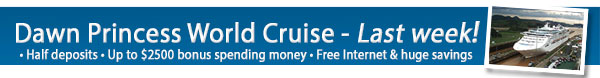 Princess 2014 World Cruise Sale