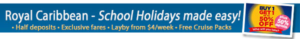 Royal Caribbean Buy One Get One Up To Half Off Sale!