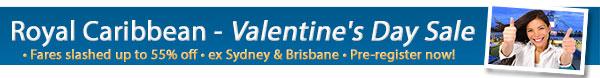 Royal Caribbean Valentine's Day Sale!