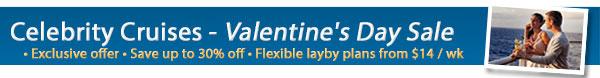 Celebrity Cruises Valentine's Day Exclusives!