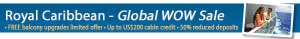 Royal Caribbean WOW Sale!