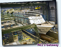 New Cruise Ships on Order
