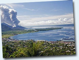 South Pacific itineraries